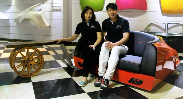 Realsteel Design Alan and Celena Liu